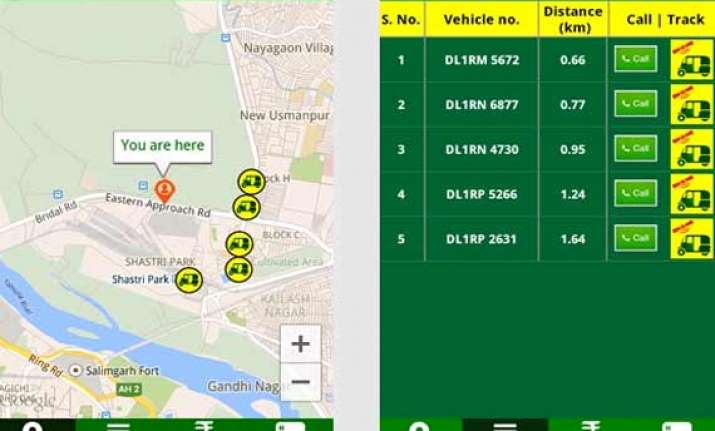 poocho users claim app to locate hire autorickshaws in