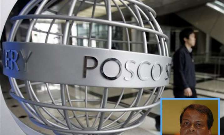 posco for swapping of iron ore within country minister
