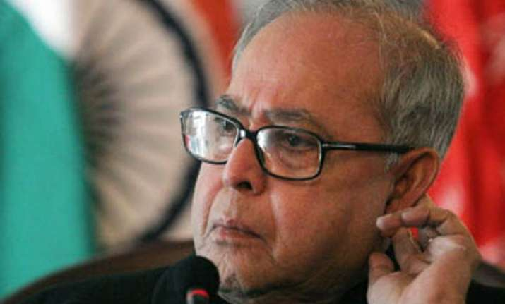 pranab to lead indian business delegation to us