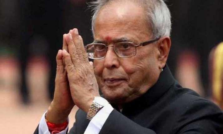pranab mukherjee spells out modi govt s roadmap highlights