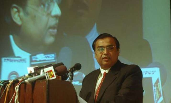 ril shares fall up to 3 despite high q1 earnings