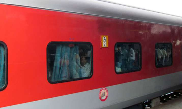 railways to install work stations in rajdhani trains report