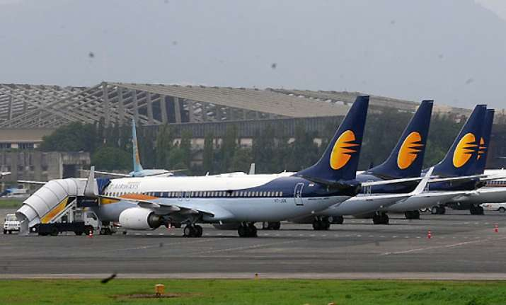 revenue dept attaches jet s iata account for non payment of