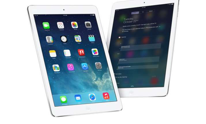 it s lighter faster it s ipad air