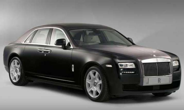rolls royce rolls out limited edition of ghost at rs 4.66 cr