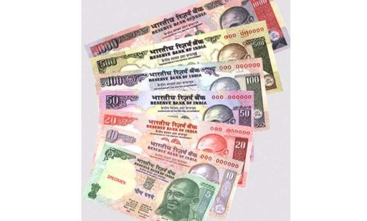 rupee at nearly 10 mth closing peak up 39 p vs usd at 59.29