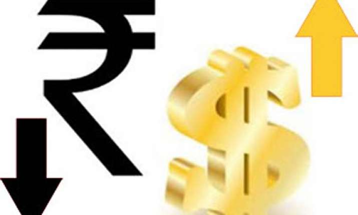 rupee breaches 63 mark a dollar ends at historic record low