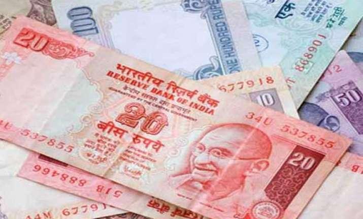 rupee logs biggest drop in 2 weeks ends 29 paise down per