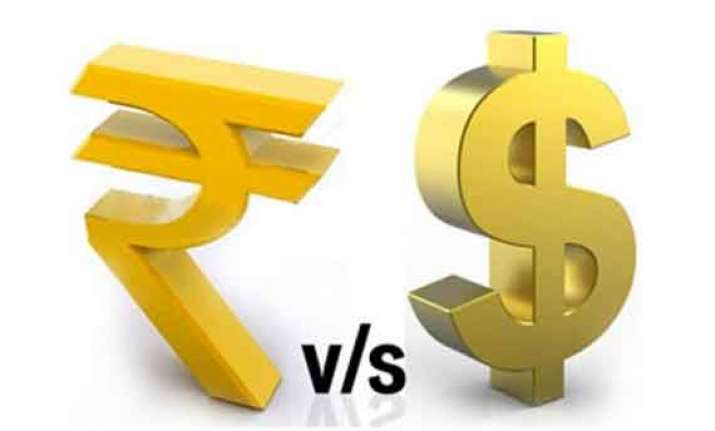 rupee logs 4th drop in 5 days down 10 p against us dollar