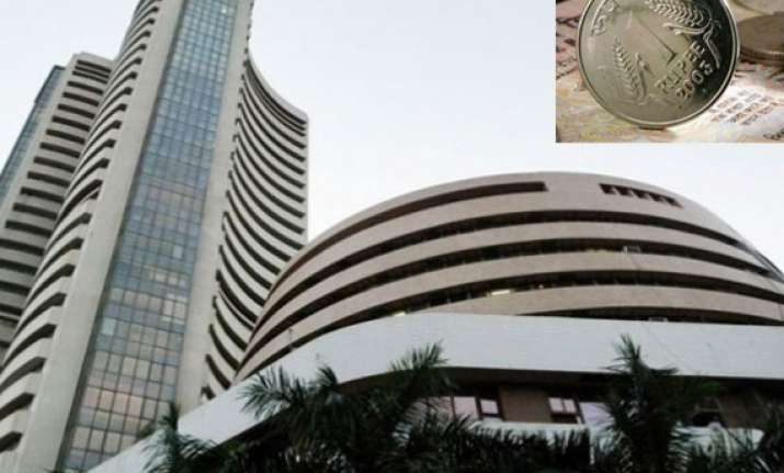 rupee sinks below 60 mark gold falls below 27k sensex down