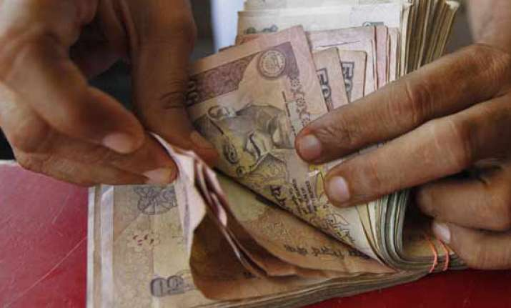 rupee plunges to historic low of 64.45 vs dollar