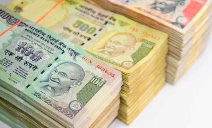 rupee trims initial gains vs dollar still up 16 paise