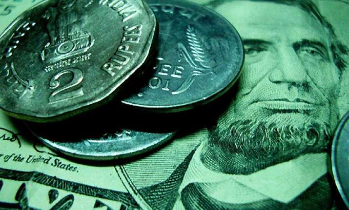 rupee at five week high against dollar