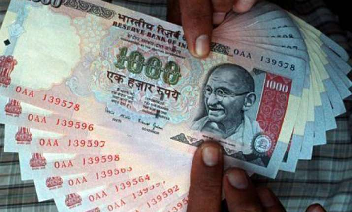 rupee down 19 paise against dollar in morning trade