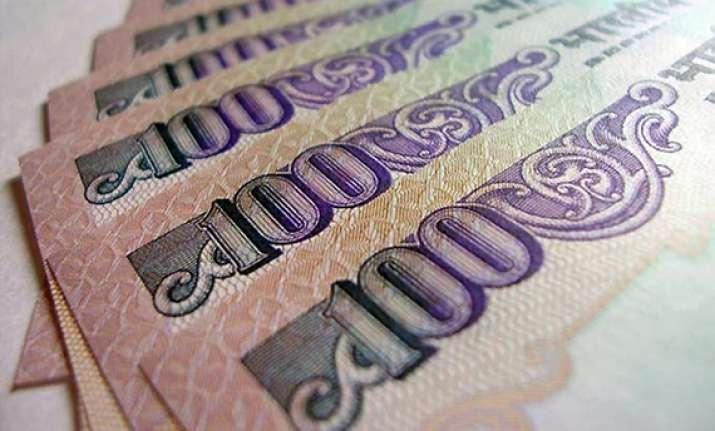 rupee falls 13 paise as dollar strengthens overseas