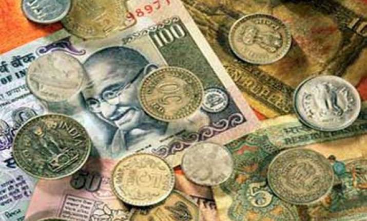 rupee plunges below 50 level after 30 months down 21 ps vs
