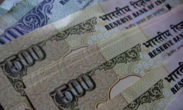 rupee at 32 month low vs dollar at 51.34/35