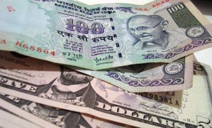 rupee gains 5 paise vs dollar in early trade