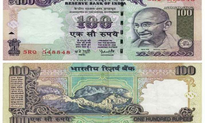 rupee drops to sub 54 level but recovers to snap losing