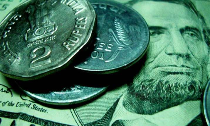 rupee touches a new lifetime low at 53.71 against dollar