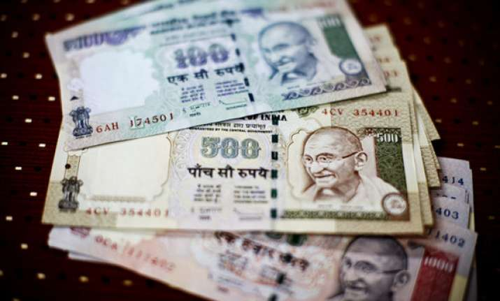 rupee jumps 81 paise to a month s high against the dollar