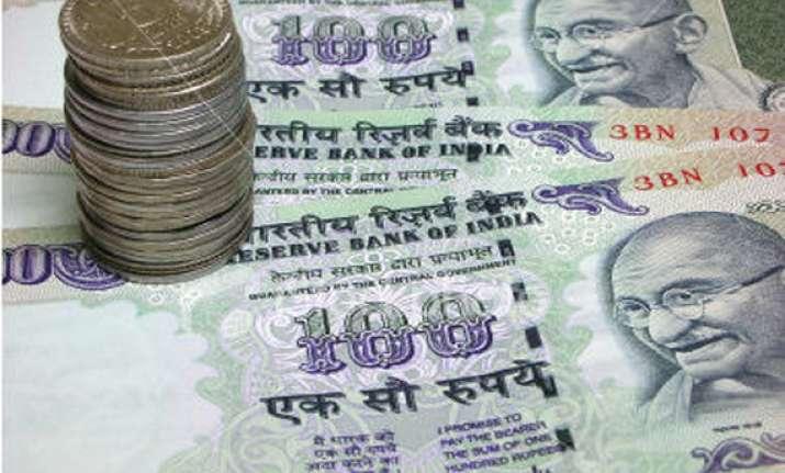 rupee up 77 paise vs dollar on hefty capital inflows