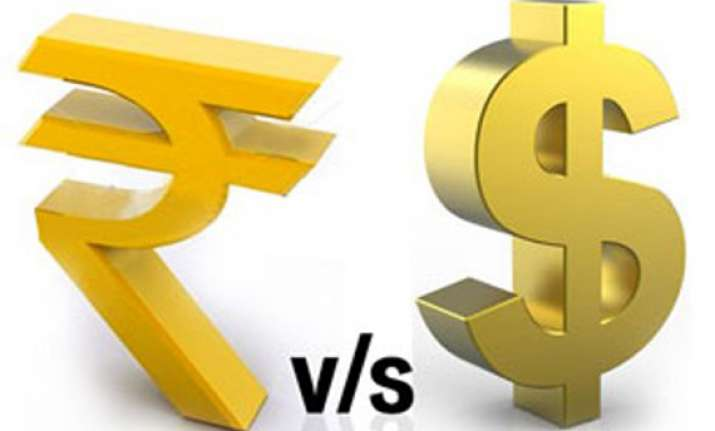 rupee falls to all time closing low of 57.15 against us