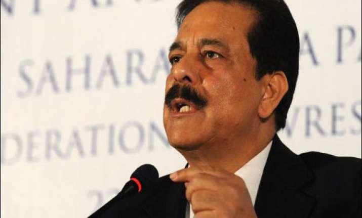 sc agrees to hear sahara s plea to allow roy to go abroad