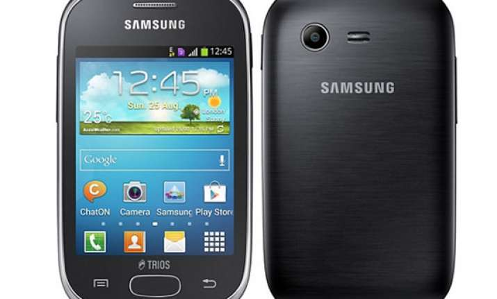 samsung galaxy star trios with triple sim support listed on