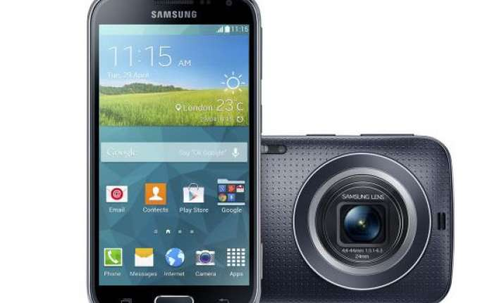 samsung galaxy k zoom listed on amazon india for rs 29 999