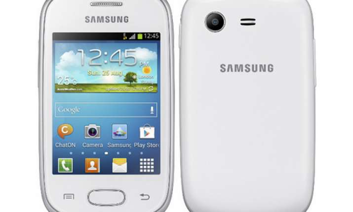 samsung launches cheapest galaxy phone star at rs 5 240