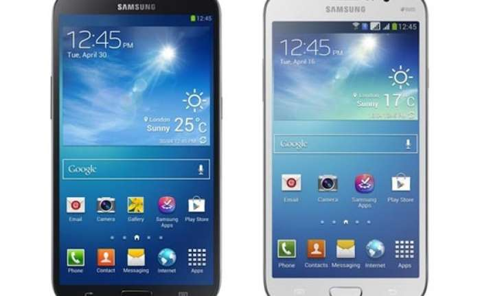 samsung launches its two biggest galaxy smartphones in india