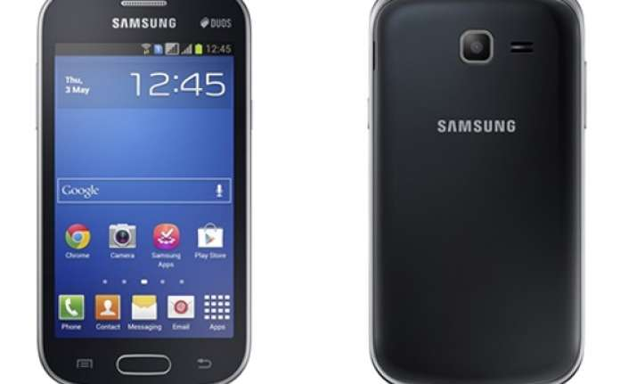 samsung launches budget smartphones galaxy trend and galaxy