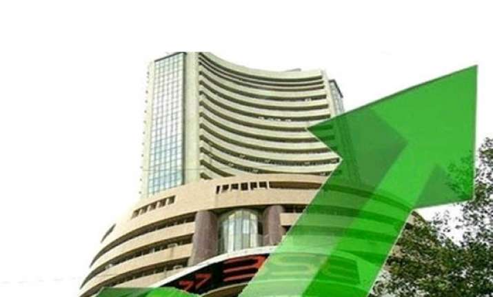 sensex nifty rise to fresh closing peak bhel zooms 17