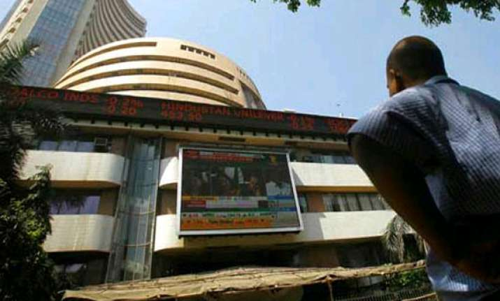 sensex closes flat after touching new high lead