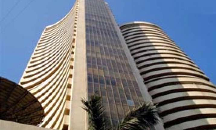bse sensex wipes out initial losses to end almost flat