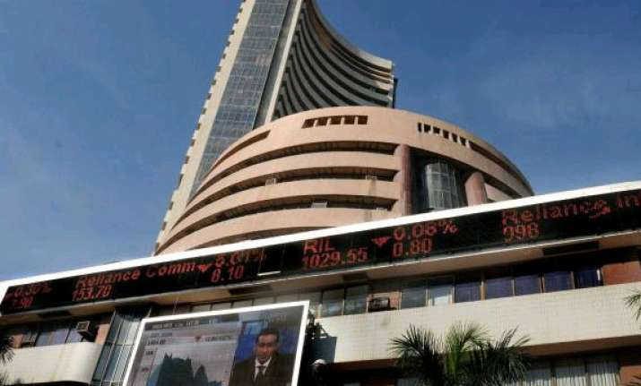 sensex ends flat in truncated week after see saw trade