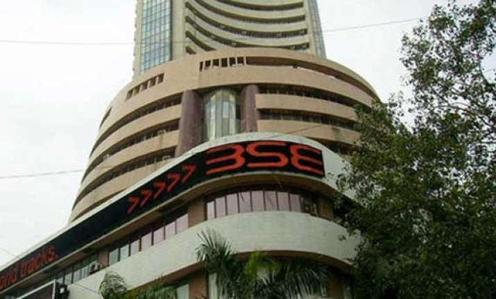 sensex gains 63 pts to close at 1 week high
