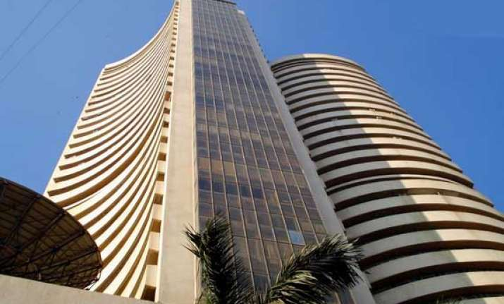 sensex hits 2 month low down 233 points