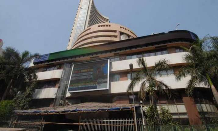 sensex retreats from 21 000 level falls 42 points