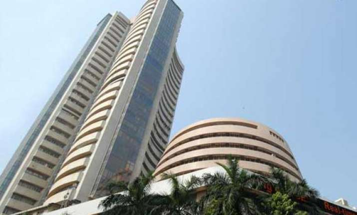 sensex rises 67 points to end near record close