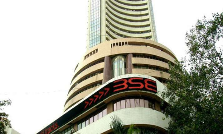 sensex rises 79 points as it stocks counter poor economic