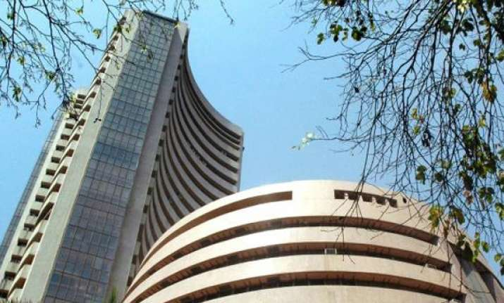 sensex hits record high up over 320 points at 23 871 nifty