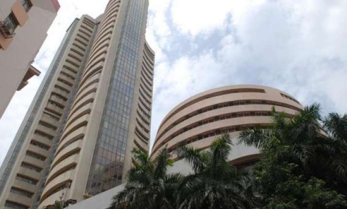 sensex settles at 6 1/2 week high above 20 000