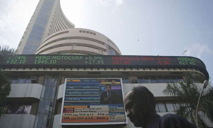 sensex slips 42pts in 1st loss in 5 days tcs bharti laggards