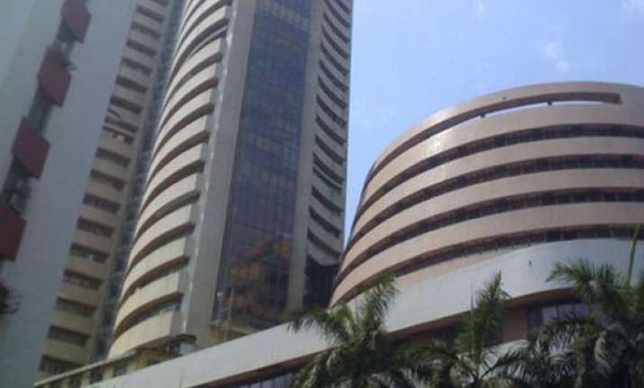 sensex falls 100 pts in volatile trade snap four day rally