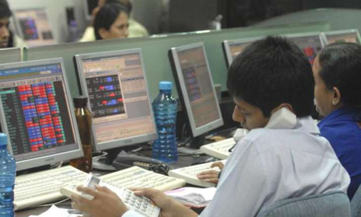 sensex dips 82 points on weak factory outputs global markets