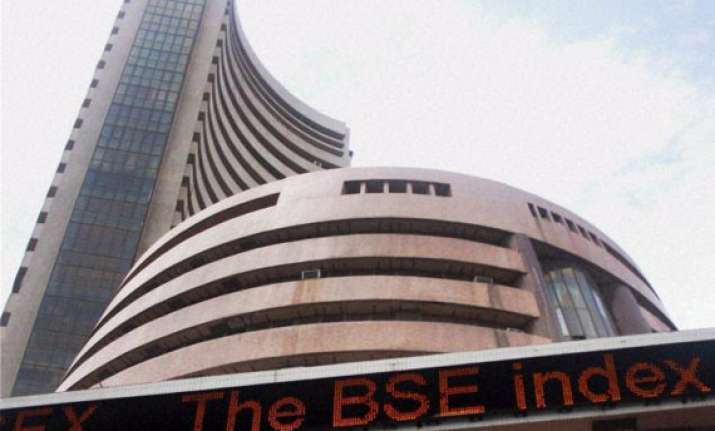 sensex gains 56 pts ahead of rbi policy