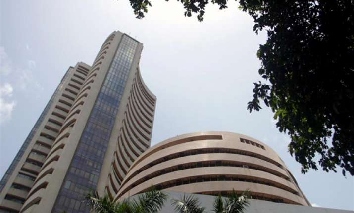 sensex falls 57 pts ril drags it despite firm global mkts
