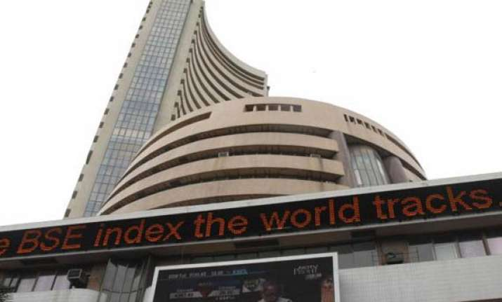 sensex snaps two day rally slips 75 points